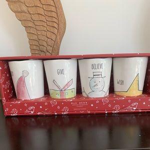 Rae Dunn 4pk melamine cups